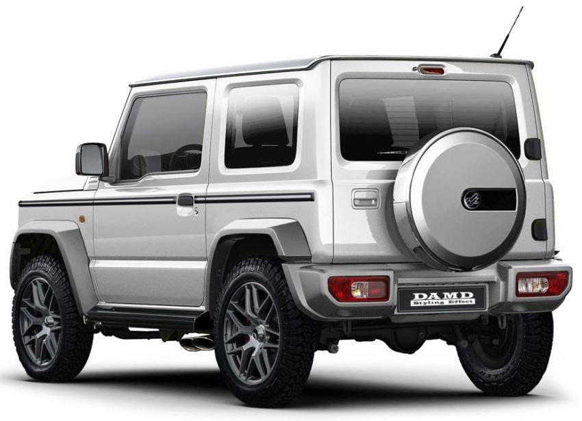 Suzuki Jimny DAMD Little G dan Little D – replika skala kecil Land Rover Defender dan Mercedes G Wagen! Image #889824