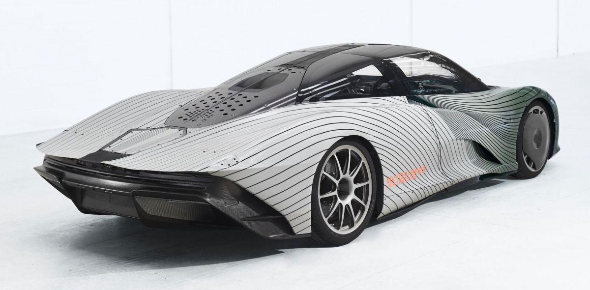 Fastest Electric Bike >> McLaren Speedtail starts year-long test programme