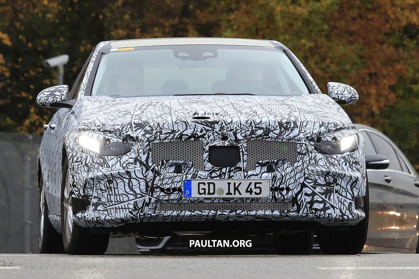 SPIED: New W206 Mercedes-Benz C-Class caught! Image #886317