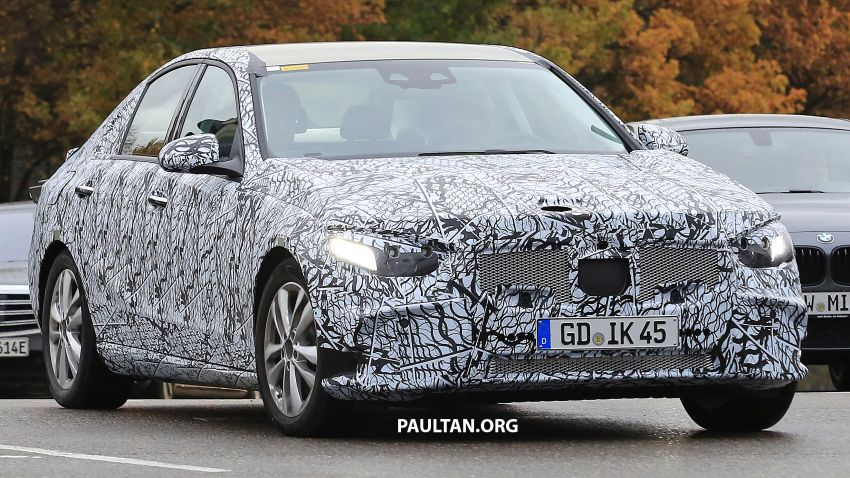 SPIED: New W206 Mercedes-Benz C-Class caught! Image #886318