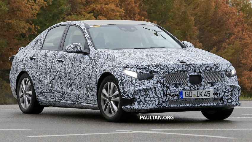 SPIED: New W206 Mercedes-Benz C-Class caught! Image #886319