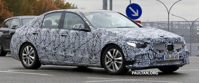 SPIED: New W206 Mercedes-Benz C-Class caught! Image #886320