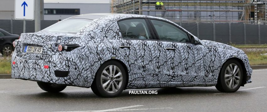 SPIED: New W206 Mercedes-Benz C-Class caught! Image #886324