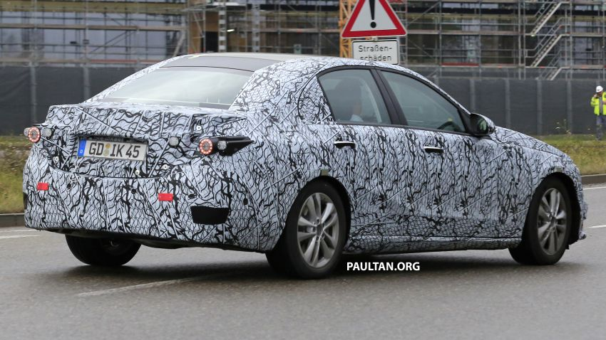 SPIED: New W206 Mercedes-Benz C-Class caught! Image #886325
