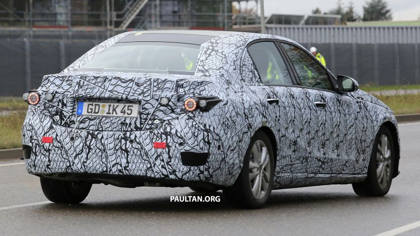 SPIED: New W206 Mercedes-Benz C-Class caught! Image #886326