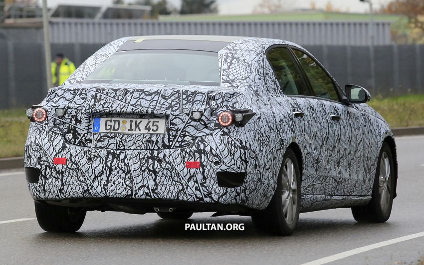 SPIED: New W206 Mercedes-Benz C-Class caught! Image #886327