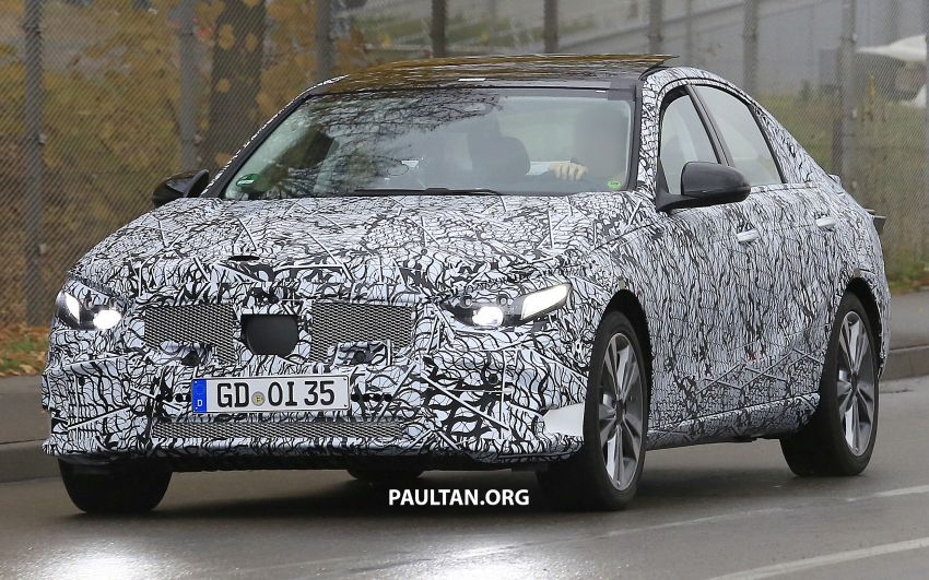 SPIED: New W206 Mercedes-Benz C-Class caught! Image #886328
