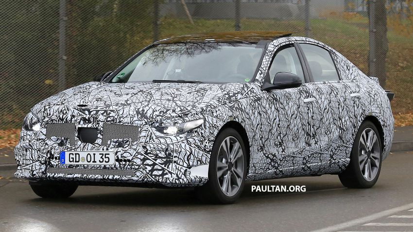 SPIED: New W206 Mercedes-Benz C-Class caught! Image #886329