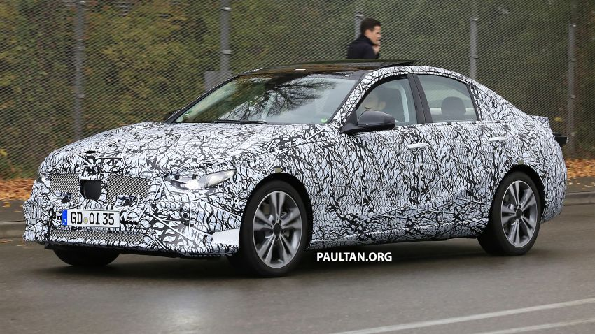 SPIED: New W206 Mercedes-Benz C-Class caught! Image #886330
