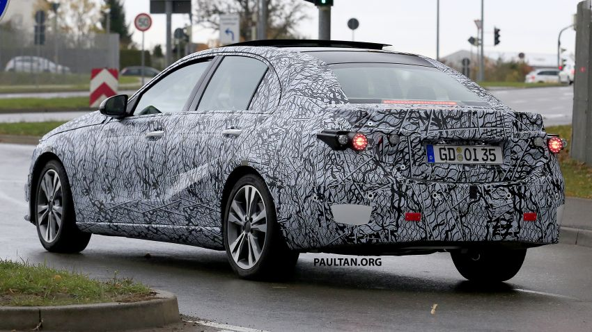 SPIED: New W206 Mercedes-Benz C-Class caught! Image #886334
