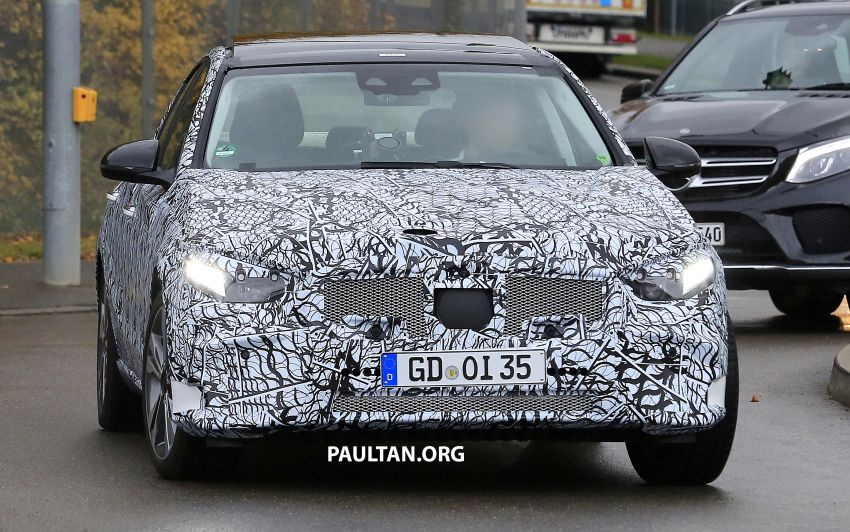 SPIED: New W206 Mercedes-Benz C-Class caught! Image #886335