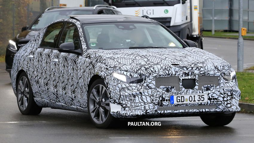 SPIED: New W206 Mercedes-Benz C-Class caught! Image #886336