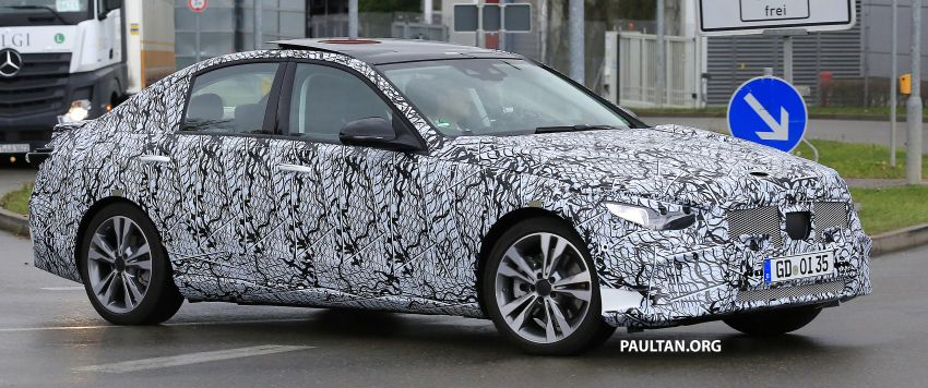 SPIED: New W206 Mercedes-Benz C-Class caught! Image #886337