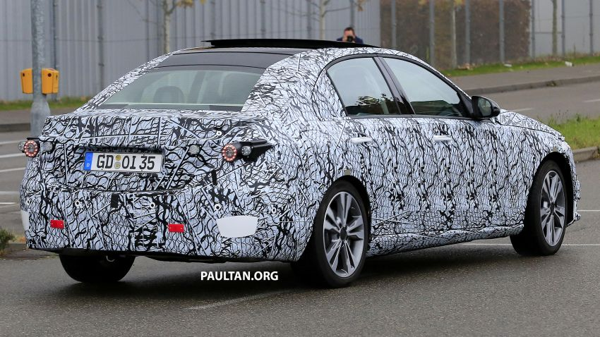 SPIED: New W206 Mercedes-Benz C-Class caught! Image #886340