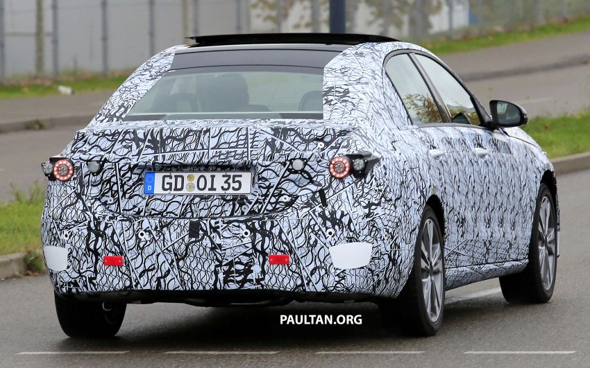 SPIED: New W206 Mercedes-Benz C-Class caught! Image #886341