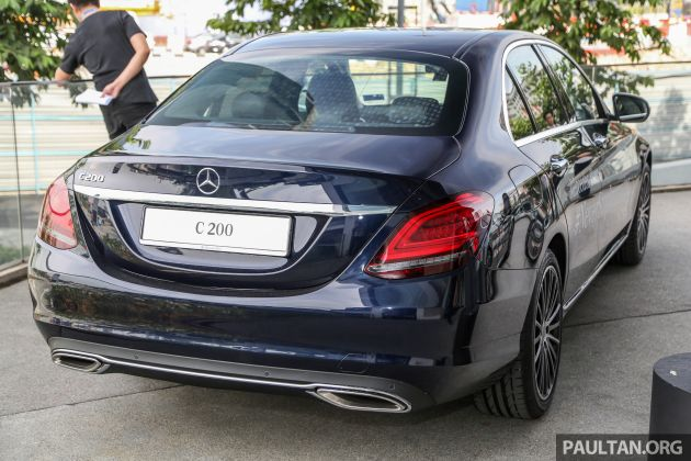 W205 Mercedes-Benz C-Class facelift now in Malaysia - C200