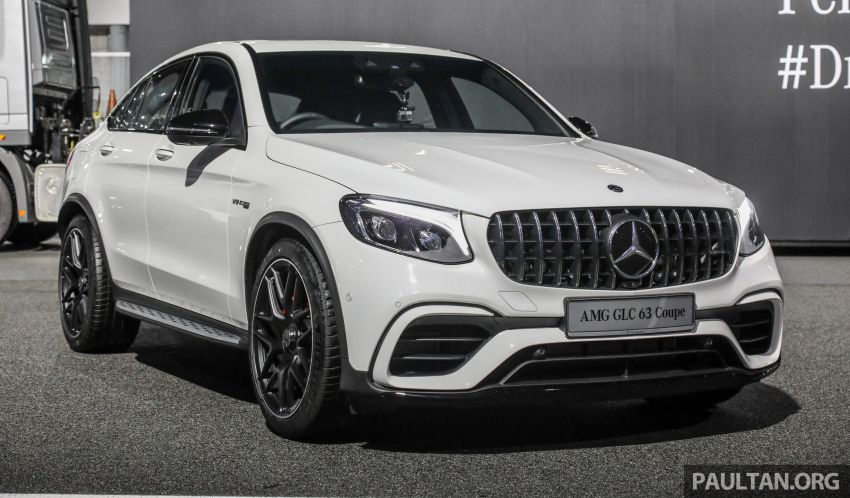 Mercedes-AMG GLC63 and GLC63 Coupe launched in Malaysia – 503 hp, 700 Nm; RM916k and RM934k Image #888098