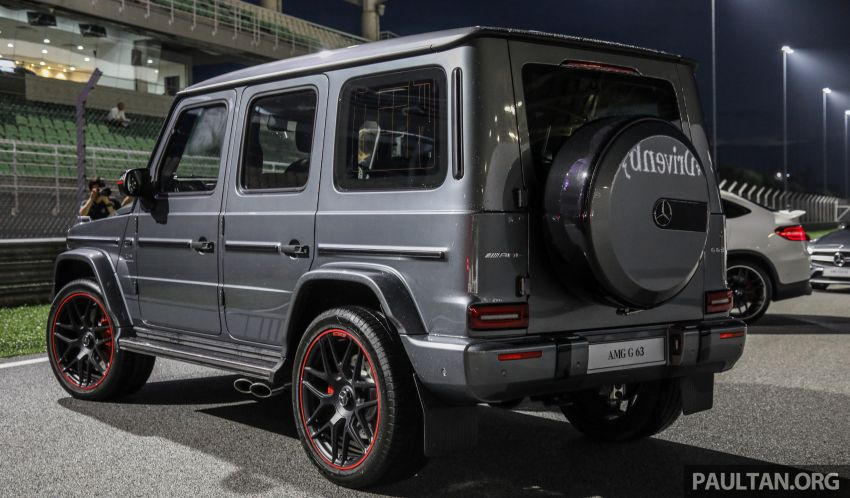 2019 Mercedes-AMG G63 launched in M'sia – RM1.5mil Image #888126