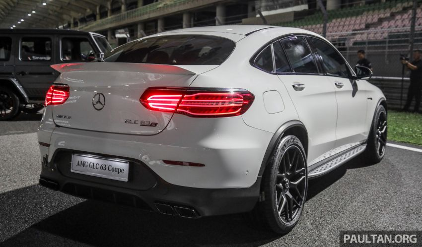Mercedes-AMG GLC63 and GLC63 Coupe launched in Malaysia – 503 hp, 700 Nm; RM916k and RM934k Image #888099