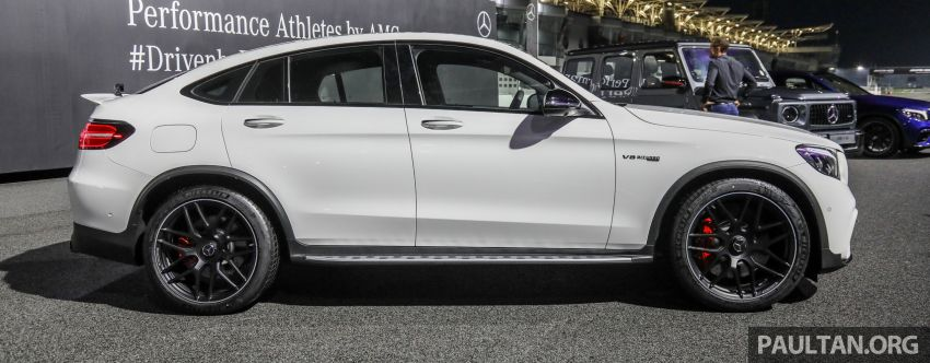 Mercedes-AMG GLC63 and GLC63 Coupe launched in Malaysia – 503 hp, 700 Nm; RM916k and RM934k Image #888101