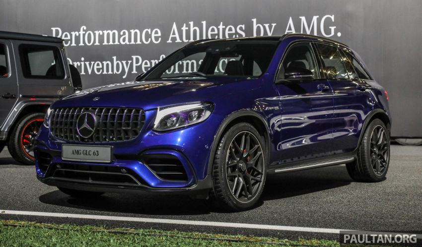 Mercedes-AMG GLC63 and GLC63 Coupe launched in Malaysia – 503 hp, 700 Nm; RM916k and RM934k Image #888104