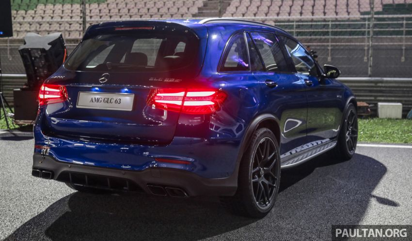 Mercedes-AMG GLC63 and GLC63 Coupe launched in Malaysia – 503 hp, 700 Nm; RM916k and RM934k Image #888105