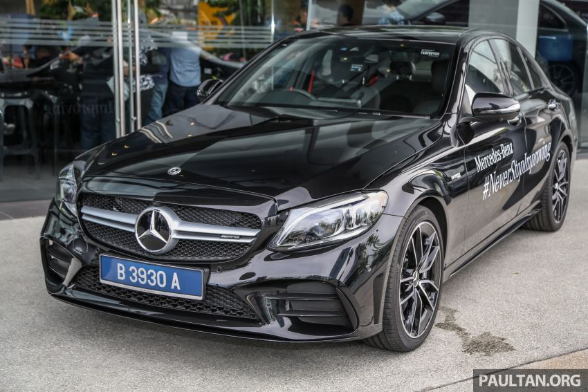 W205 Mercedes-AMG C43 4Matic facelift launched in Malaysia – more power, new styling, RM421,888 Image #882094