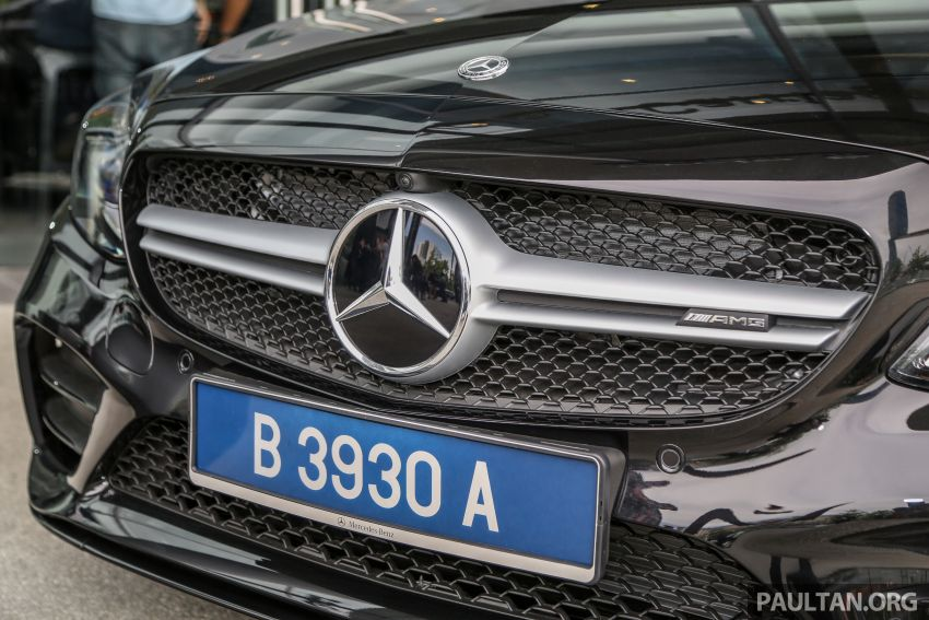 W205 Mercedes-AMG C43 4Matic facelift launched in Malaysia – more power, new styling, RM421,888 Image #882099