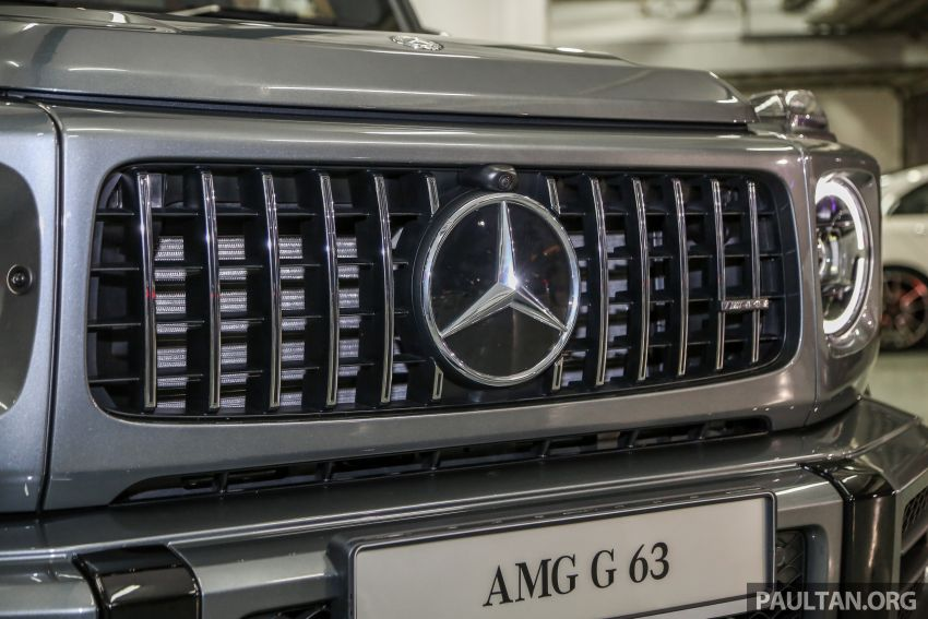 Mercedes-AMG G63 2019 dilancarkan di Malaysia – 4.0 liter V8 Bi-turbo, 585 hp/850 Nm, harga dari RM1.5 juta Image #888559