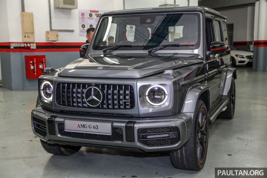 2019 Mercedes-AMG G63 launched in M'sia – RM1.5mil Image #888254