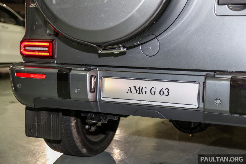 Mercedes-AMG G63 2019 dilancarkan di Malaysia – 4.0 liter V8 Bi-turbo, 585 hp/850 Nm, harga dari RM1.5 juta Image #888572