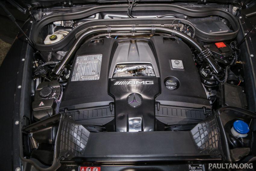 Mercedes-AMG G63 2019 dilancarkan di Malaysia – 4.0 liter V8 Bi-turbo, 585 hp/850 Nm, harga dari RM1.5 juta Image #888576