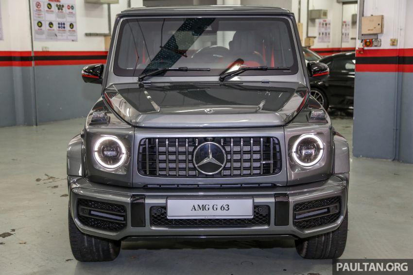 Mercedes-AMG G63 2019 dilancarkan di Malaysia – 4.0 liter V8 Bi-turbo, 585 hp/850 Nm, harga dari RM1.5 juta Image #888550