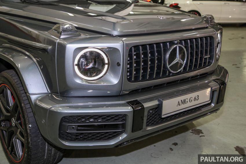 Mercedes-AMG G63 2019 dilancarkan di Malaysia – 4.0 liter V8 Bi-turbo, 585 hp/850 Nm, harga dari RM1.5 juta Image #888553