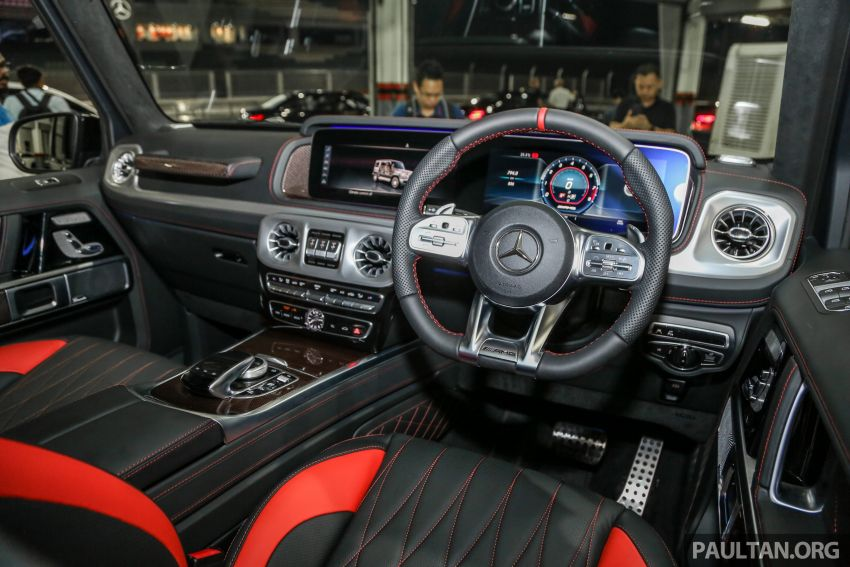 Mercedes-AMG G63 2019 dilancarkan di Malaysia – 4.0 liter V8 Bi-turbo, 585 hp/850 Nm, harga dari RM1.5 juta Image #888592