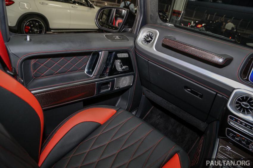 Mercedes-AMG G63 2019 dilancarkan di Malaysia – 4.0 liter V8 Bi-turbo, 585 hp/850 Nm, harga dari RM1.5 juta Image #888594