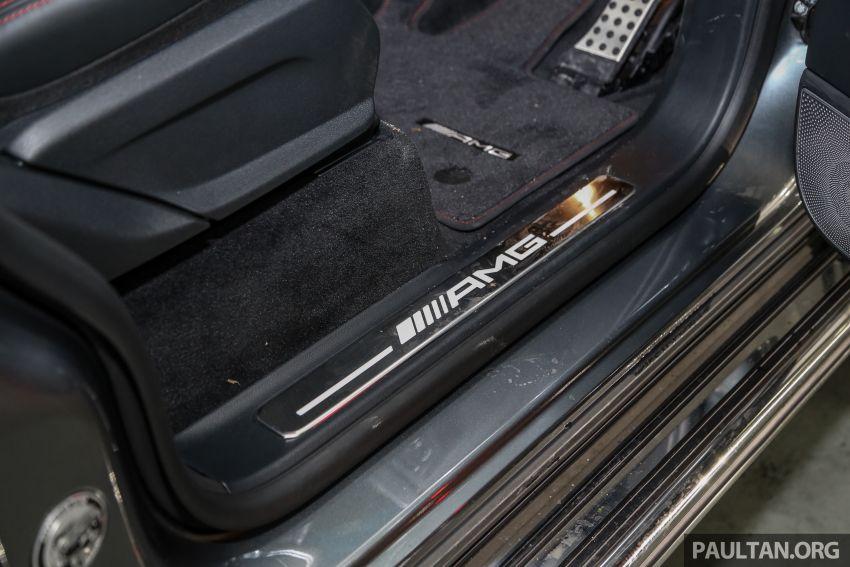 Mercedes-AMG G63 2019 dilancarkan di Malaysia – 4.0 liter V8 Bi-turbo, 585 hp/850 Nm, harga dari RM1.5 juta Image #888600