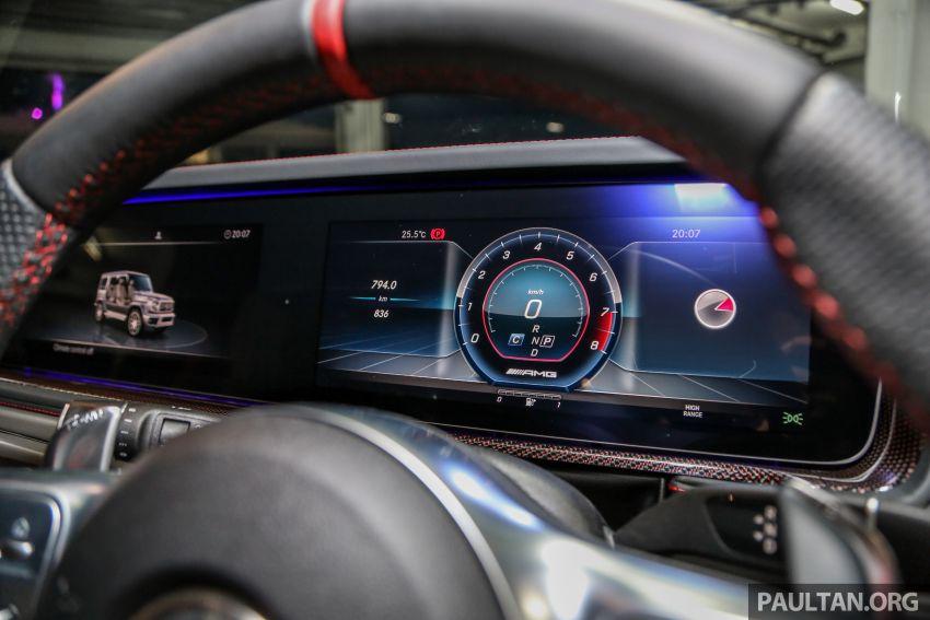 Mercedes-AMG G63 2019 dilancarkan di Malaysia – 4.0 liter V8 Bi-turbo, 585 hp/850 Nm, harga dari RM1.5 juta Image #888581