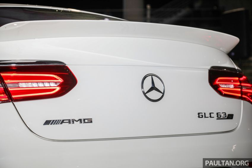 Mercedes-AMG GLC63 and GLC63 Coupe launched in Malaysia – 503 hp, 700 Nm; RM916k and RM934k Image #888173