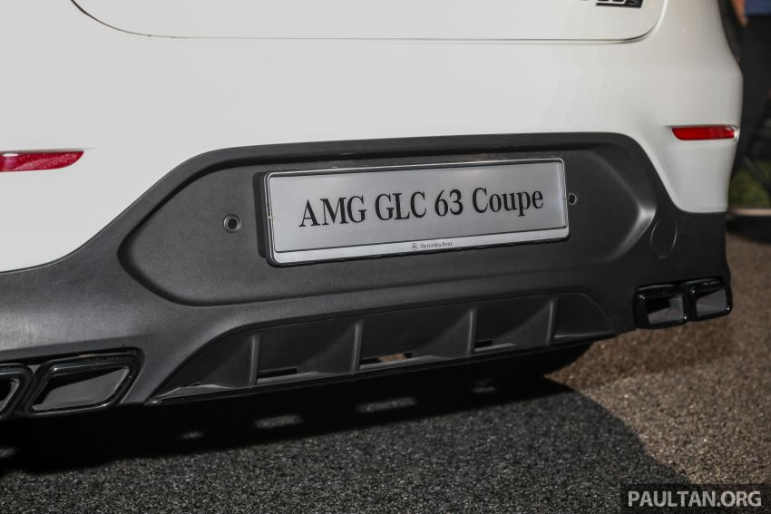 Mercedes-AMG GLC63 and GLC63 Coupe launched in Malaysia – 503 hp, 700 Nm; RM916k and RM934k Image #888175