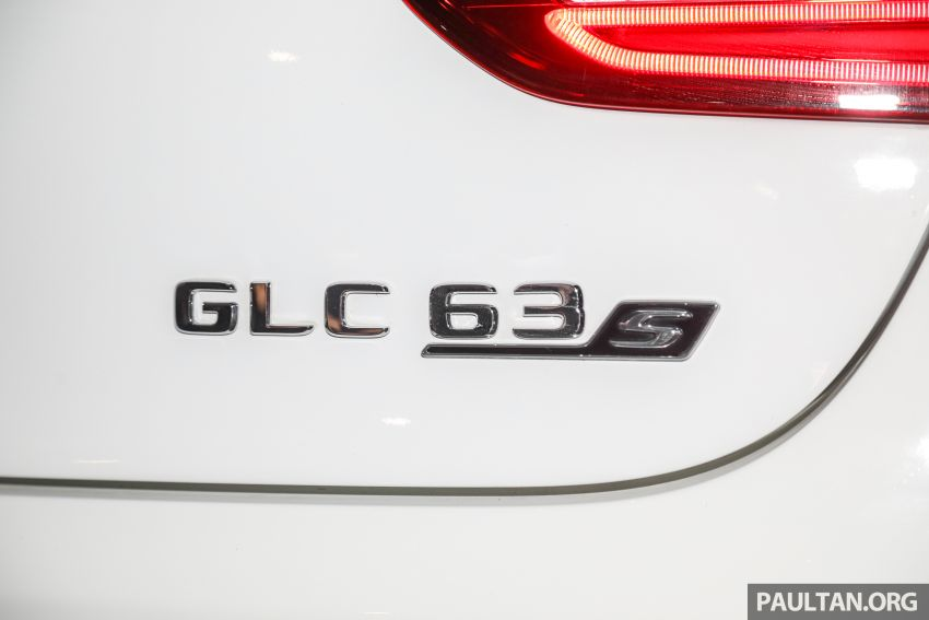 Mercedes-AMG GLC63 and GLC63 Coupe launched in Malaysia – 503 hp, 700 Nm; RM916k and RM934k Image #888179