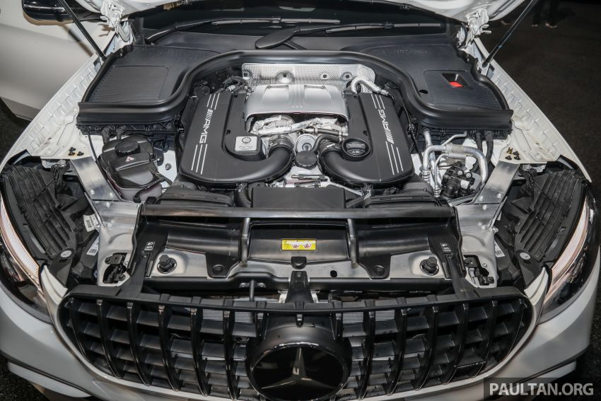 Mercedes-AMG GLC63 and GLC63 Coupe launched in Malaysia – 503 hp, 700 Nm; RM916k and RM934k Image #888183