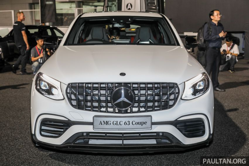 Mercedes-AMG GLC63 and GLC63 Coupe launched in Malaysia – 503 hp, 700 Nm; RM916k and RM934k Image #888139