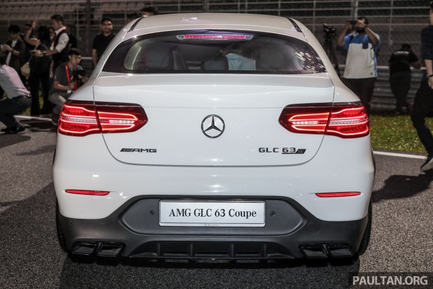 Mercedes-AMG GLC63 and GLC63 Coupe launched in Malaysia – 503 hp, 700 Nm; RM916k and RM934k Image #888141