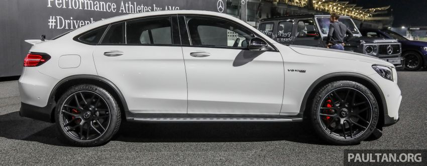 Mercedes-AMG GLC63 and GLC63 Coupe launched in Malaysia – 503 hp, 700 Nm; RM916k and RM934k Image #888143