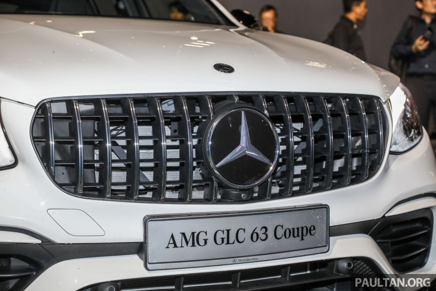 Mercedes-AMG GLC63 and GLC63 Coupe launched in Malaysia – 503 hp, 700 Nm; RM916k and RM934k Image #888152
