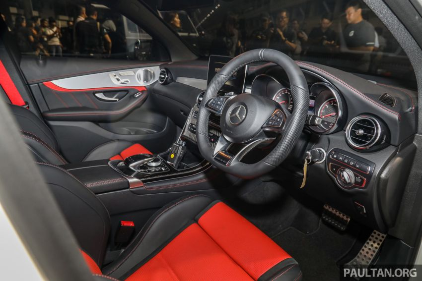 Mercedes-AMG GLC63 and GLC63 Coupe launched in Malaysia – 503 hp, 700 Nm; RM916k and RM934k Image #888187