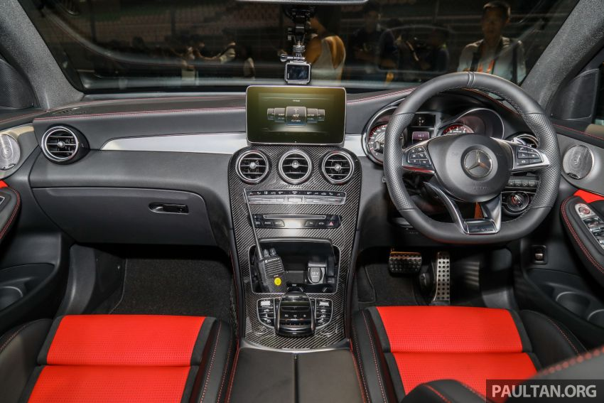 Mercedes-AMG GLC63 and GLC63 Coupe launched in Malaysia – 503 hp, 700 Nm; RM916k and RM934k Image #888189