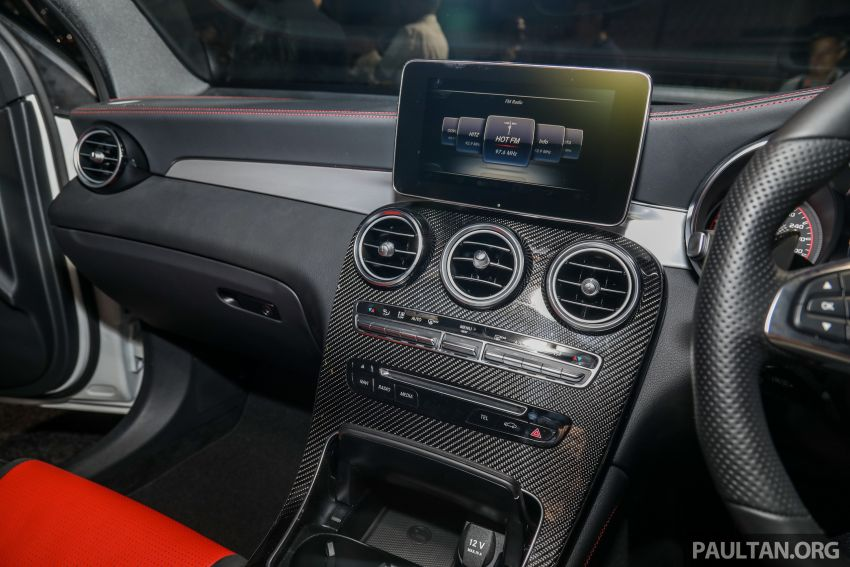 Mercedes-AMG GLC63 and GLC63 Coupe launched in Malaysia – 503 hp, 700 Nm; RM916k and RM934k Image #888198