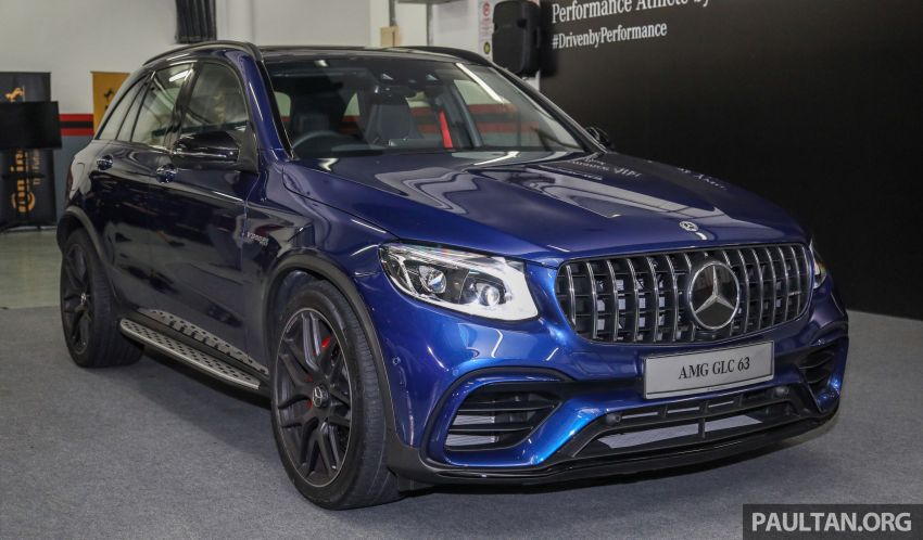 Mercedes-AMG GLC63 and GLC63 Coupe launched in Malaysia – 503 hp, 700 Nm; RM916k and RM934k Image #888140